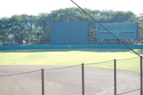 横山公園野球場
